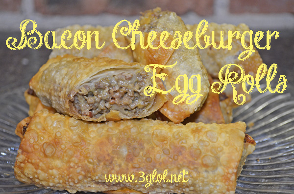 #eggrolls #cheeseburger #fingerfood #appetizer
