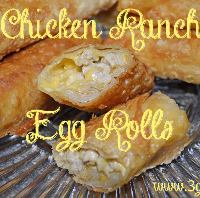 #eggroll #ranchchicken #fingerfood #appetizer