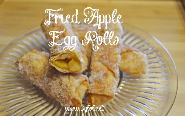 #friedapple #eggrolls #dessert #appetizer