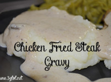 Chicken Fried Steak Gravy #gravy #gravyrecipe