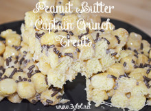 Peanut Butter Captain Crunch Treats http://www.3glol.net