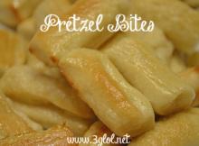 Pretzel Bites @ 3GLOL