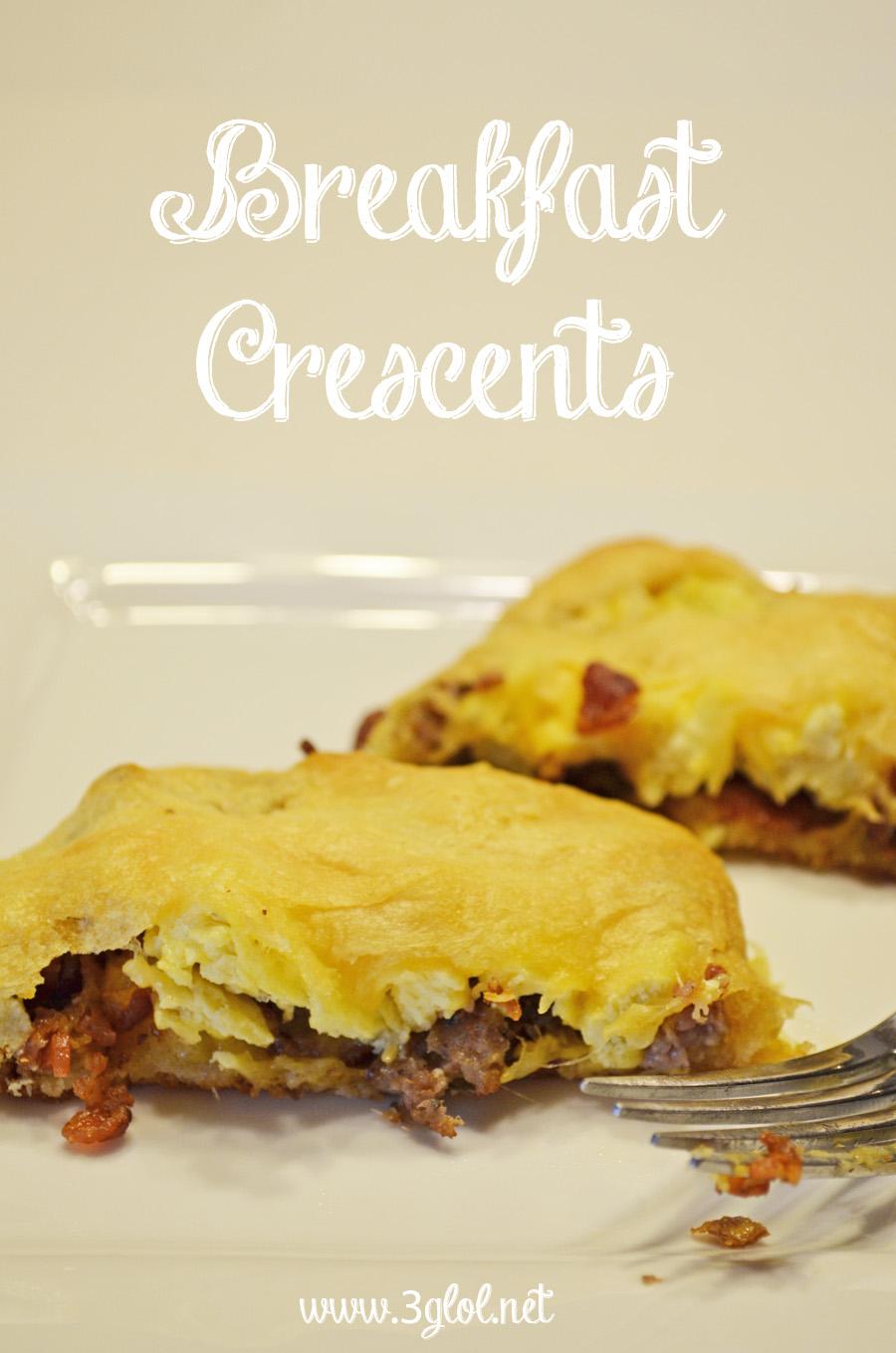 Breakfast Crescents by 3GLOL.net