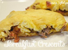 Breakfast Crescents by 3GLOL.net
