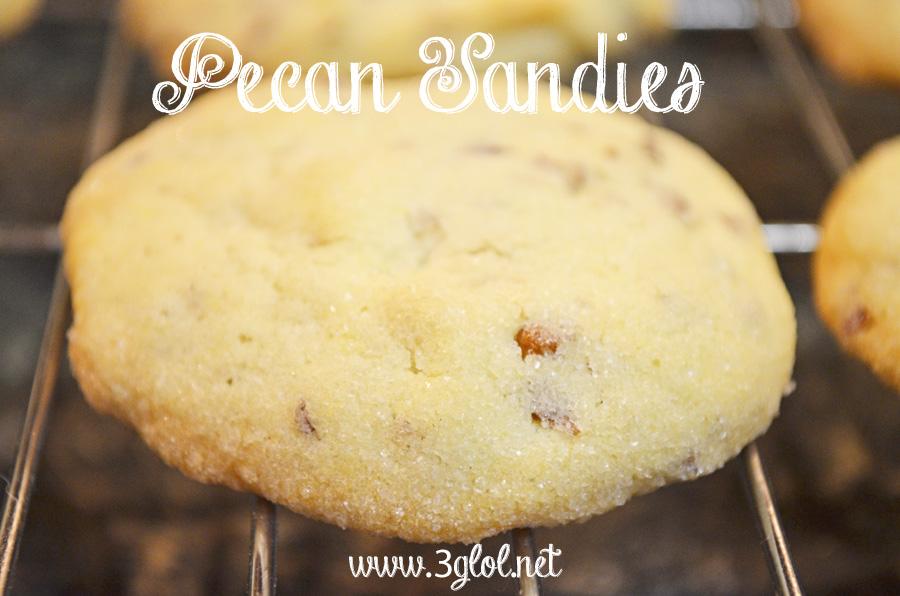 Pecan Sandies - The BEST I've had yet! | 3GLOL