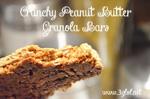 Crunchy Peanut Butter Granola Bars