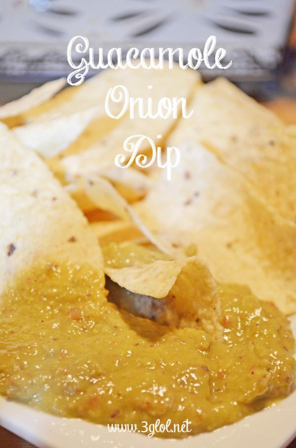 Guacamole Onion Dip by 3glol.net