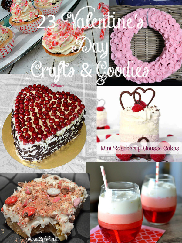 23 Valentines Day Crafts and Goodies by 3glol.net