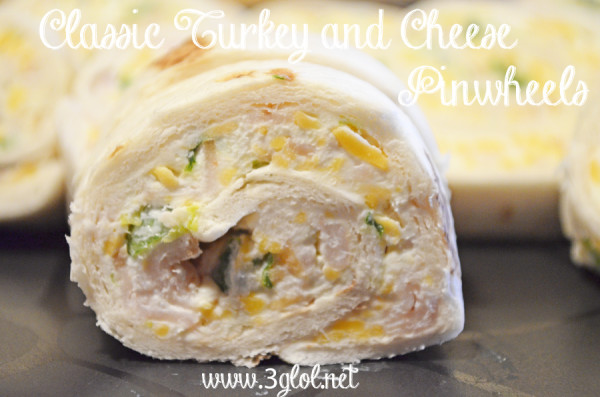 CLASSIC Turkey and Cheese Pinwheels by 3glol.net
