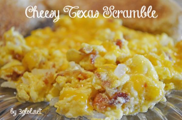 Cheesy Texas Scramble by 3glol.net