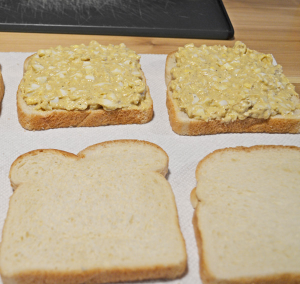 Simple Egg Salad Finger Sandwiches by 3glol.net