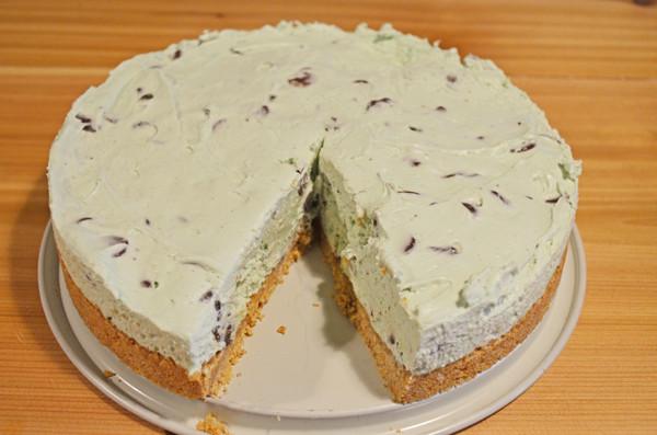 GREEN Mint Chocolate Cheesecake by 3glol.net
