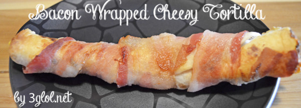 Bacon Wrapped Cheesy Tortillas by 3glol.net