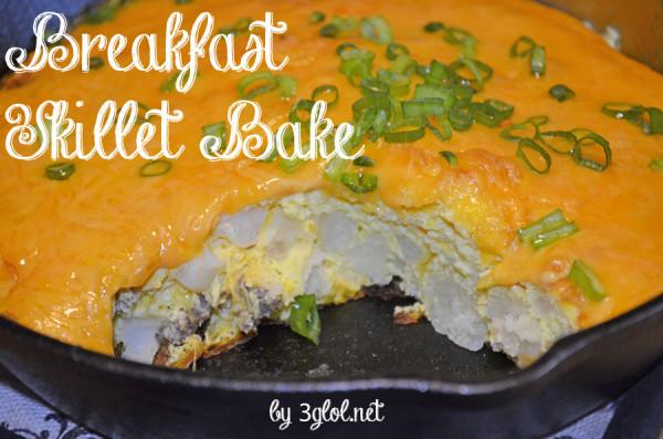 Breakfast Skillet Bake by 3glol.net