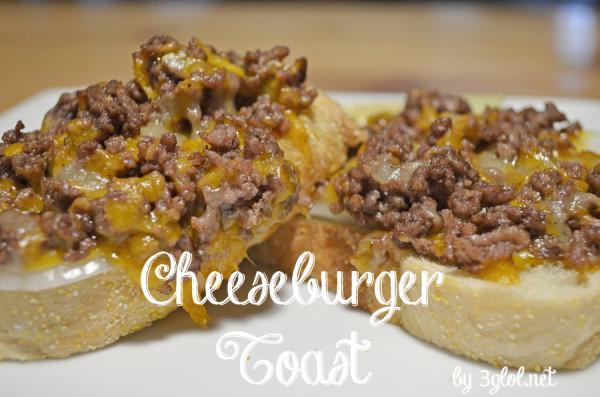 Cheeseburger Toast by 3glol.net