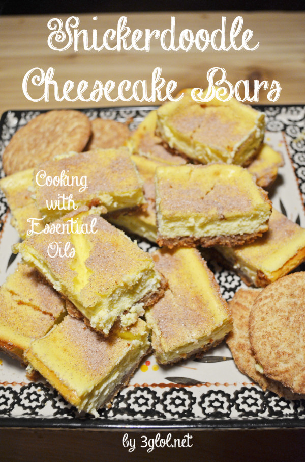 Snickerdoodle Cheesecake Bars by 3glol.net