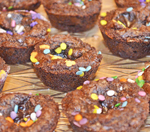 Triple Chocolate Brownie Bites