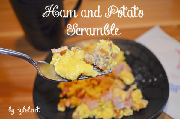 Ham and Potato Scramble by 3glol.net