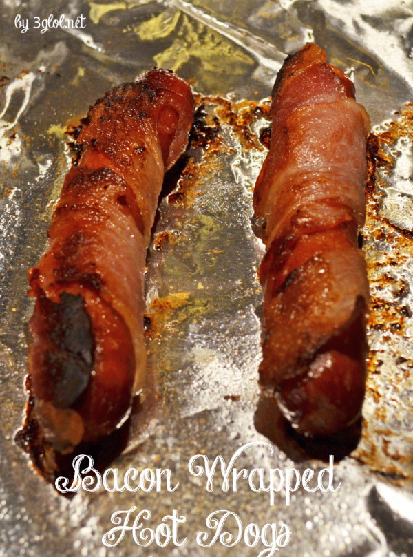 Bacon Wrapped Hot Dogs by 3glol.net