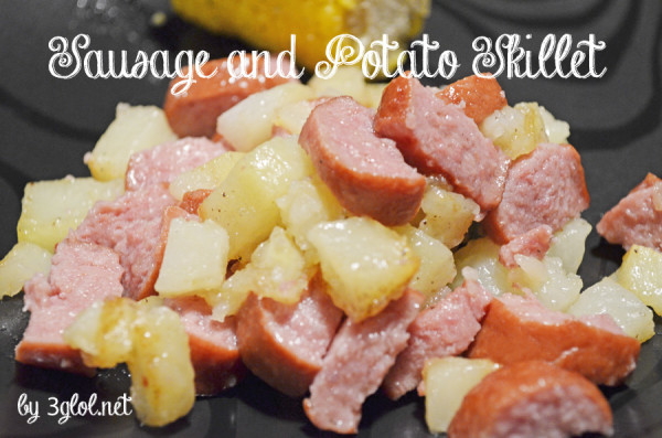 Sausage and Potato Skillet by 3glol.net