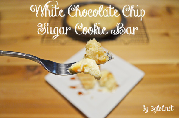 White Chocolate Chip Sugar Cookie Bars by 3glol.net
