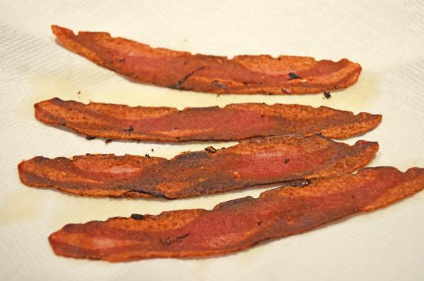 How to make CRISPY Turkey Bacon by 3glol.net