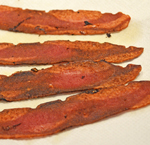 How to make CRISPY Turkey Bacon