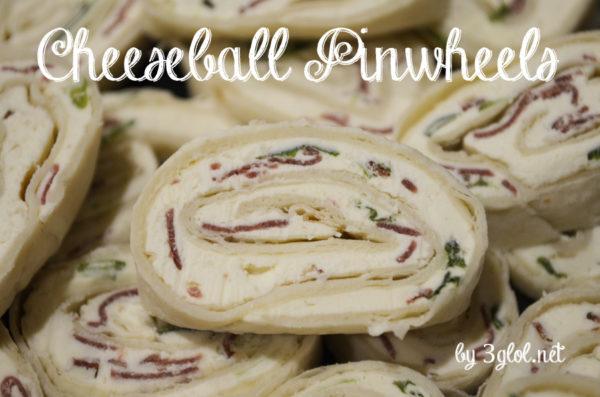 Cheeseball Pinwheels